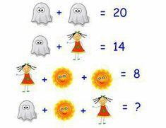 The answer is 16 Algebra Activities, Math Worksheets, Math Games, Teaching Math, Logic Math, Logic Puzzles, Mind Puzzles, Maths Starters, Reto Mental