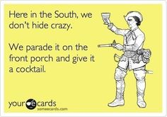 AMEN  Praise the LORD that we live in the South!