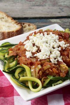 Thermomix Rezepte zum Abnehmen: Gemüsenudeln