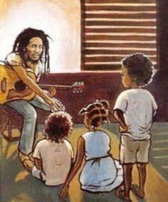 Bob loved the children..
