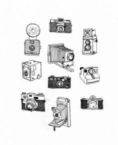 t l charger appareil photo et cadres photo illustration 79718626 dessin pinterest. Black Bedroom Furniture Sets. Home Design Ideas