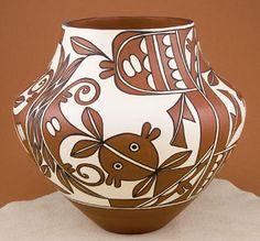 Example of Pueblo pottery