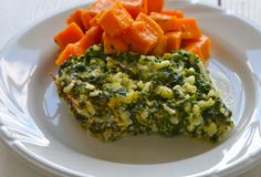 I want to try this with quinoa instead of rice. Spinach Bake - Vegetarian - Slow Cooker