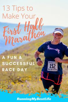 First Half Marathon Tips for a Fantastic Race Day – Running My Best Life Beginner Half Marathon Training, Half Marathon Tips, Half Marathon Motivation, First Marathon, Marathon Running, Half Marathons, Running For Beginners, How To Start Running, Running Tips