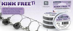 Beadalon - Kink-Free Ti™ - Titanium Bead Stringing Wire