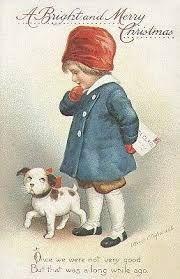 Resultado de imagen de christmas vintage postcards