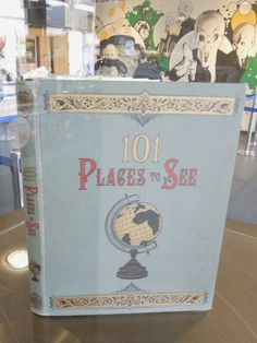Clara Oswald 101 Places to See book
