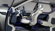 Foglizzo Leather for Land Rover Discovery Vision Concept, New York 2014 #FoglizzoLeather #LandRoverDiscovery