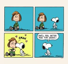 Smak!!! From Snoopy