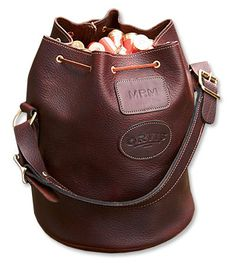 you've met your manbag | orvis sandanona shell bucket | carry everywhere