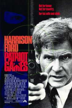 Patriot Games , starring Harrison Ford, Sean Bean, Anne Archer, Patrick Bergin. When CIA Analyst Jack Ryan interferes with an IRA assassination, a renegade faction targets him and his family for revenge. #Action #Crime #Drama #Thriller