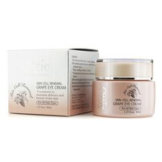 A skin renewing eye cream  Features a lightweight, rapid-dissolving texture  Formulated with Grape Extract to replenish moisture & improve elasticity   Reduces the look of puffiness & dark circles  Unveils a softer, smoother, more vibrant & invigorated eye zone    To use: Apply day & night a small amount to cleansed & toned eye area & pat gently for absorption