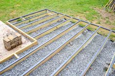 If you're planning on building a ground level deck, ground contact lumber is an essential element. In this post, I cover all the details. Also details how to build over patio