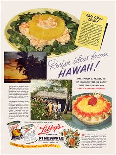 From Mrs. Spencer F. Weaver of Honolulu, Recipes Made Grand With Libby's Canned Pineapple! (1942)