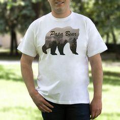 Papa Bear Shirt Papa Bear Tshirt Papa Bear T-shirt от 2PApparel