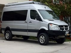 Sprinter 4x4 - Expedition Portal with Aluminess front bumper