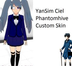 YanSim- Fem!Ciel Phantomhive Custom Skin by stanleymarshsexyboi.deviantart.com on @DeviantArt