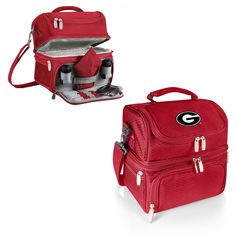 Georgia Bulldogs Insulated Lunch Box - Pranzo by Picnic Time