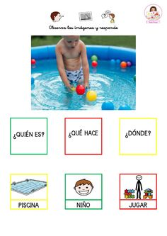 Spanish Class, English Class, Teaching Spanish, Sentence Building, Conte, Speech And Language, Primary School, Speech Therapy, Learning Activities