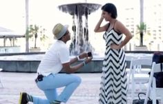 this guy proposed to and married his girlfriend in one day! (Although I don't think I'd want that to happen since I would want to plan my wedding) Wow! Happy News Stories, Surprise Wedding, Wedding Proposals, Plan My Wedding, That One Friend, Wedding Pinterest, Getting Engaged, Prom Dresses, Formal Dresses