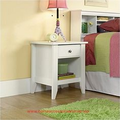 Sauder Shoal Creek Night Stand, White  BUY NOW     $69.61    This Product Drawer features easy-glide metal runners .Open shelf provides additional storage .Made in USA.Drawer features eas ..  http://www.homeaccessoriesforus.top/2017/03/04/sauder-shoal-creek-night-stand-white/