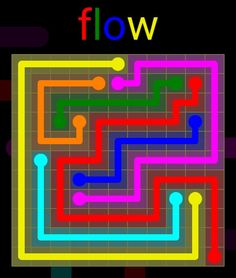 Flow Extreme Pack 2 - 11x11 - level 16 solution