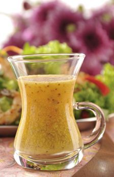 Aderezo de mostaza. Dressing Recipe, Salad Dressing, Barbacoa, Deli Food, Fry Sauce, Tasty, Yummy Food, Canapes, Chimichurri