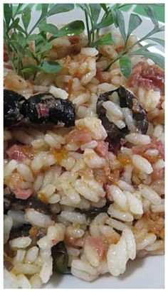 Risotto, Finger Foods, Pasta Salad, Buffet, Grains, Food And Drink, Cooking, Ethnic Recipes, Kitchen