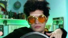 Round Sunglasses, Mirrored Sunglasses, Mens Sunglasses, Youtube Memes, Mood Pics, Cringe, Funny Posts, My Love, Instagram