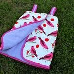 Tutorial: Terry cloth swim cover-up for little girls
