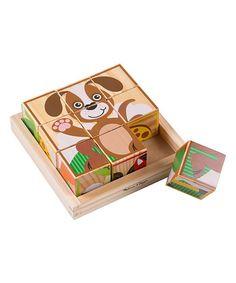 Melissa & Doug Dog Cube Puzzle