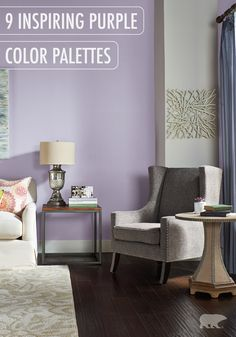 77 best purple rooms images in 2019 lilac room purple bedrooms rh pinterest com purple painting walls purple indoor paint colors