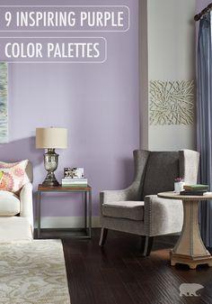 Purple Interior Colors Inspirations