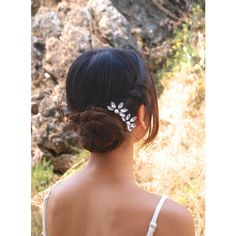 Bridal Crystal Headpieces, Gold Rhinestone Hair Pins, Bridal Hair... ($25) ❤ liked on Polyvore featuring accessories, hair accessories, vintage hair accessories, bridal hair accessories, gold bridal hair accessories, vintage hair pins and crystal bridal hair accessories
