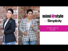 MimiG Style for Simplicity Lined Jacket - Pattern 1066 - YouTube