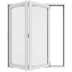 Enhance the look of your patio by installing this excellent JELD-WEN Primed Fiberglass Right-Hand Full Lite Folding Patio Door Kit. Double Sliding Patio Doors, Folding Patio Doors, Wood Hinges, Wood Doors, Patio Door Handle, Primed Doors, Aluminium Cladding, Door Kits, Plus 4