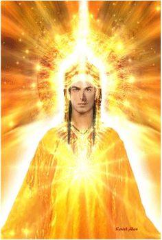 Mestre Kenich Ahan Archangel Uriel, Archangel Michael, Divine Goddess, Pictures Of Jesus Christ, Alien Concept Art, Ascended Masters, Spiritual Power, Divine Light, Angels Among Us
