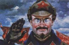 Κόκκινος Ουρανός: Τρότσκι: «Θα επιβάλουμε μια κόκκινη τυραννία. Κόκκ...