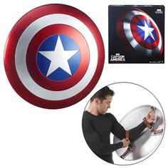 (affiliate link) Marvel Legends Gear Captain America Shield Prop Replica