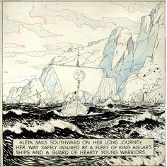 Capns Comics: Hal Foster