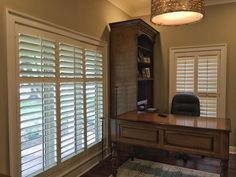 Merveilleux Need To Improve Your View In Your Home Office? Our Shutters Can Improve Any  View