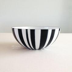 Black Striped Enamel