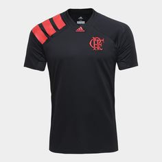Camiseta Flamengo Adidas CRF Masculina - Compre Agora 7e95c4e8634