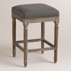 Halsted Pewter Backless Counter Stool More Counter Stool
