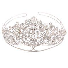 Because we all need a tiara !   Exquisite Rose Cut Diamond Tiara  USA  21st century