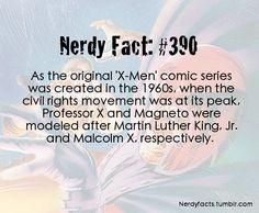 Magneto and Professor X fact