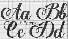 Cross Stitch Letters, Cross Stitch Heart, Cross Stitching, Cross Stitch Embroidery, Blackwork, Cross Stitch Designs, Stitch Patterns, Plastic Canvas Letters, Crochet Letters