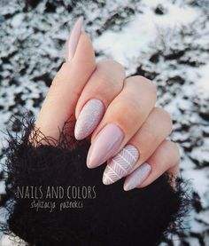20 Fabulous Free Winter Nail Art Ideas — remajacantik Winter is here and brings countless different styles of fashion and glorious trends. At Halloween and Christmas festivities, as well as other important events, you can look at exotic nail art ideas. Winter Nail Art, Winter Nails, Summer Nails, Matte Nails, Acrylic Nails, American Nails, Diy Nail Designs, Diy Design, Nagel Gel