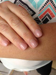 Mad Nails at Swansea: Short natural look.