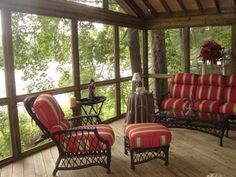 Simple Screened In Porch Ideas | Central GA screened porches | Macon Warner Robins Decks and Patios